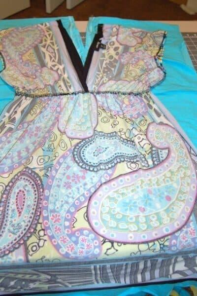 Patternless dress for Mom