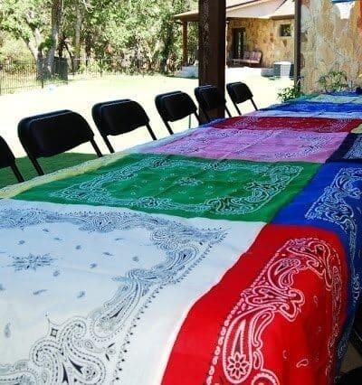 Bandana Tablecloths