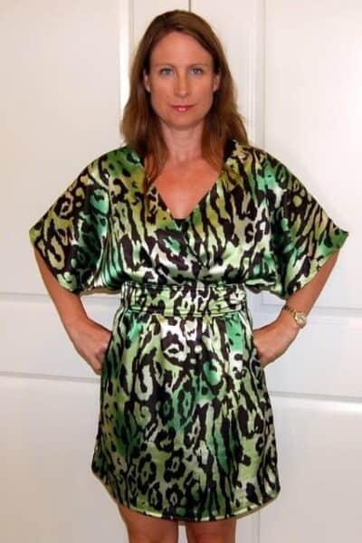 Kimono Style Tunic Dress