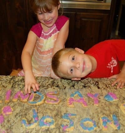 Alphabet Cookie Fun