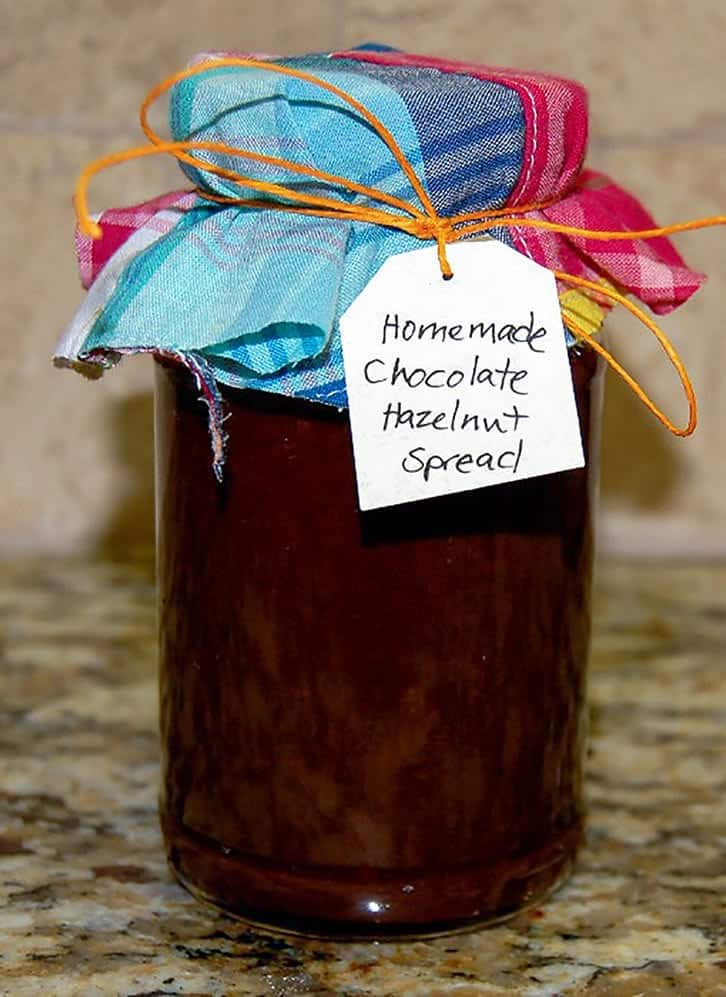 homemade nutella (chocolate hazelnut spread recipe)