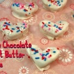 White Chocolate Peanut Butter Hearts