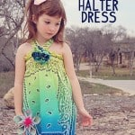 Shirred Bandana Dress