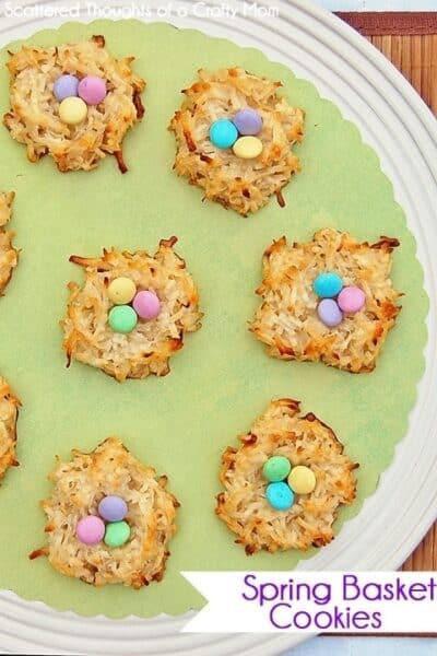 Spring Basket Cookies