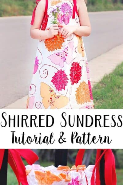 Simple Shirred Sundress Tutorial