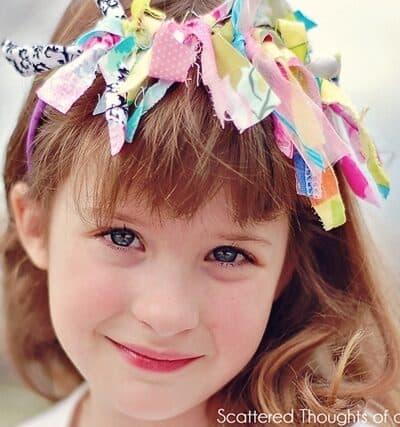 Kid Craft:  Scrap Busting Headband