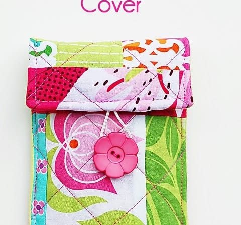 Quilted Pocket Camera Cover Tutorial