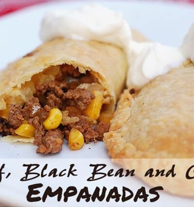 Beef, Black Bean and Corn Empanadas
