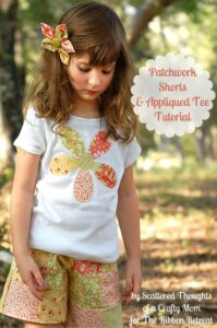 Patchwork-shorts-Appliqued-Tee-Tutorial-1