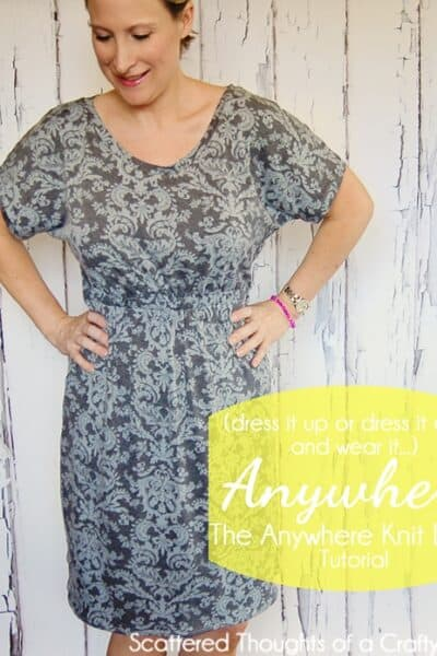Go Anywhere Knit Dress Tutorial