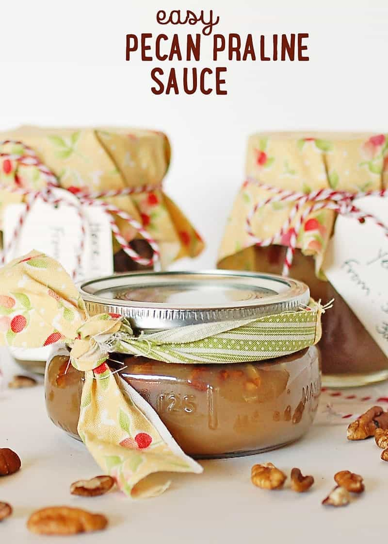 Easy Pecan Praline Sauce Recipe