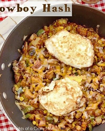 Cowboy Hash aka Breakfast for Dinner