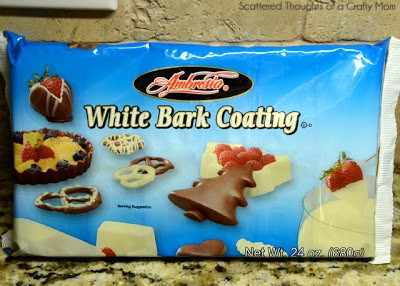 how to make white chocolate holiday bark