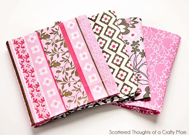 pink fat quarter set