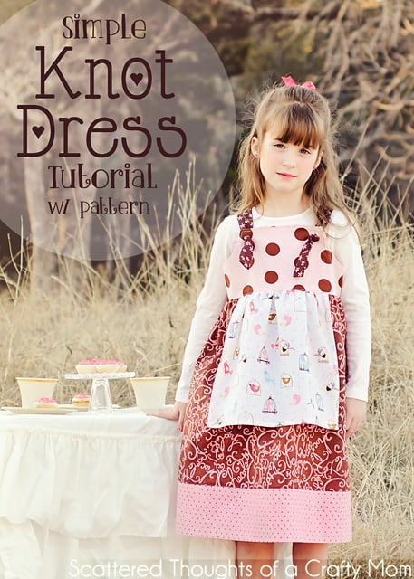 Free Knot Dress Pattern and Tutorial