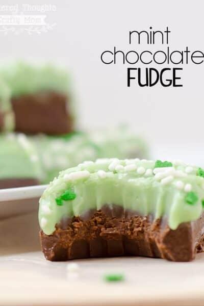 Mint Chocolate Fudge Recipe