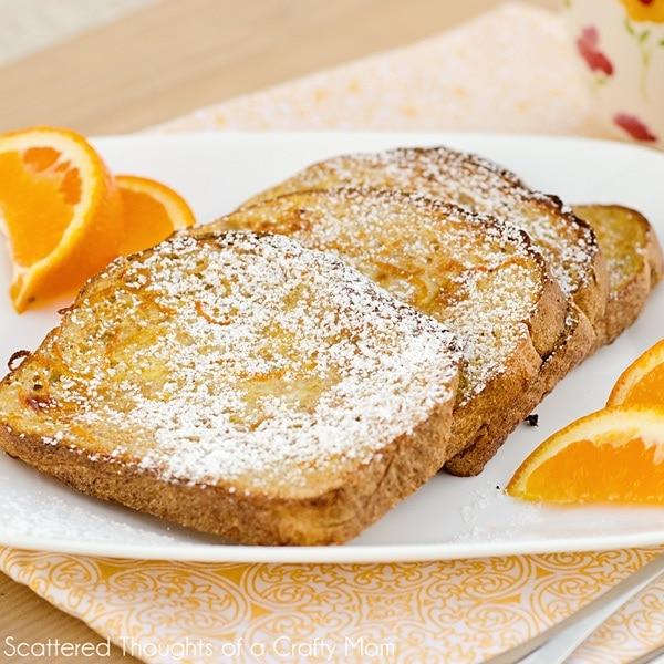 Baked Orange French Toast Recipe ( Baked french toast recipe)