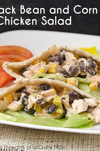 Black Bean and Corn Chicken Salad