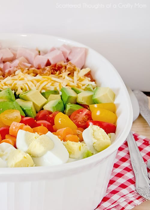 how to make a cobb salad
