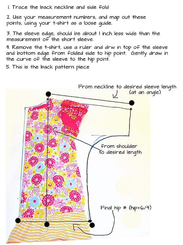 how to make a dolman top or how to make a dolman sleeve dress