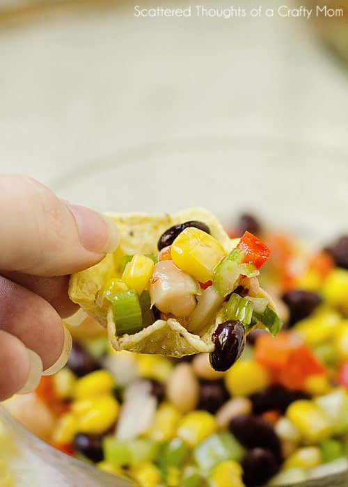 Bean and Corn Salsa aka Texas Caviar
