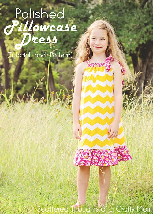 Learn How To Sew A Pillowcase Dress Free Pillowcase Dress