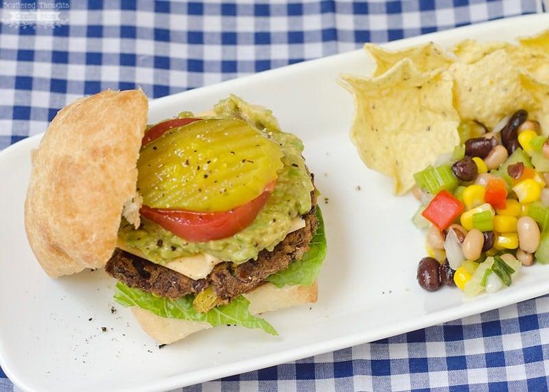 DIY Black Bean Burgers