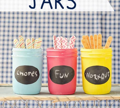 Summer Activities, Plus Chore, Fun and Exercise Jars