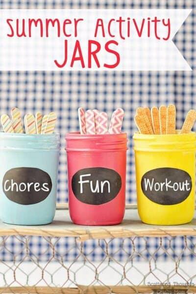 Summer Activity Jars