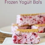 Summer Berry Frozen Yogurt Bars