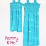Oh, Yes I Did…  Mommy and Me Swimsuit Cover-ups