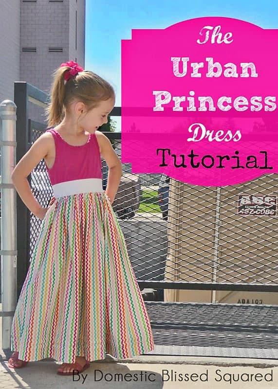 This DIY Tank Dress Tutorial