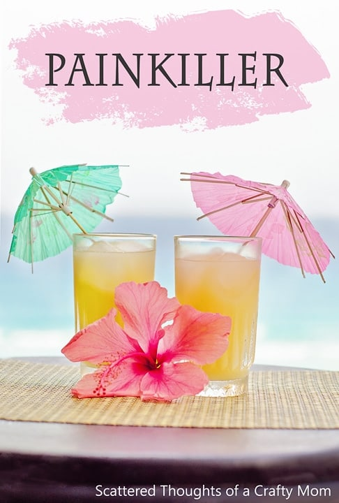 Easy Tropical Drink Recipes: The Painkiller drink recipe