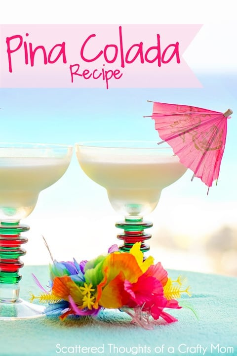 Tropical Drink of the Day: How to make Pina Coladas