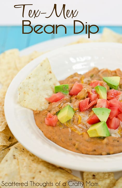 Yummy and easy to make: Tex Mex Bean Dip!
