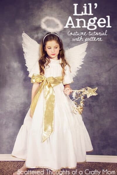 DIY Angel Costume (plus tutorial and pattern)