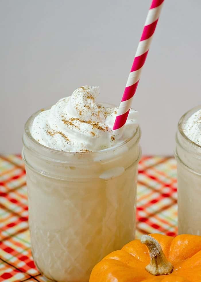 Pumpkin Spice Ice Cream Shake