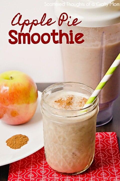 Apple Pie Smoothie Recipe (lightened up)
