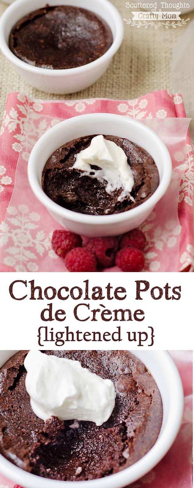 Chocolate Pots de Crème Recipe