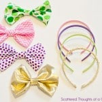DIY Big Bow Headbands
