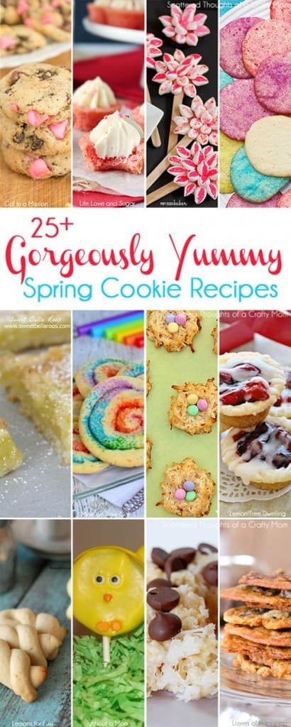 Spring Cookie Recipes