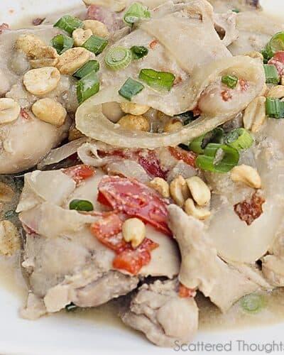 Slow Cooker Thai Chicken Recipe