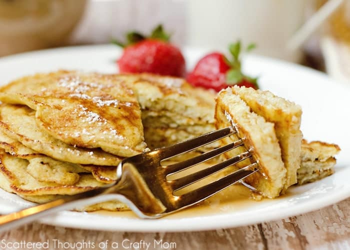 flourless banana pancakes (How to make pancakes without flour)