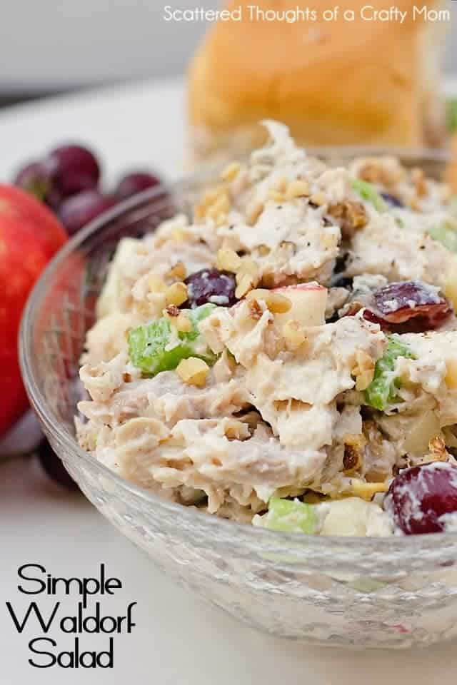 Easy Waldorf Salad Recipe