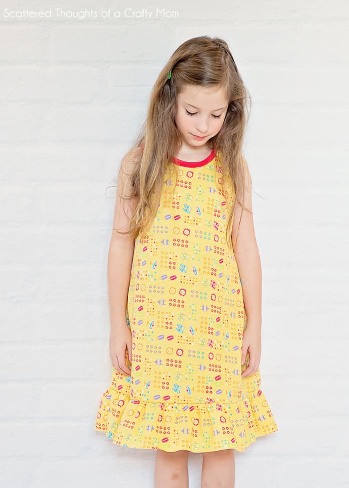 Sew a summer nightgown