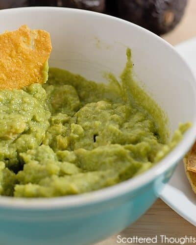 Creamy Avocado Dip, & 20+ Healthy Snack Ideas for Kids
