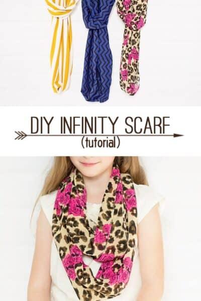 Easy Infinity Scarves (tutorial)