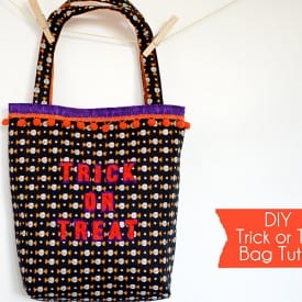 DIY Halloween Trick or Treat Bag Tutorial