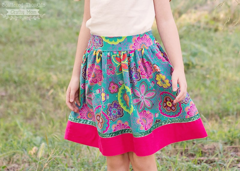 Free Flat Front Skirt Pattern