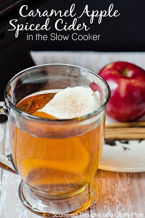 caramel apple spiced cider recipe